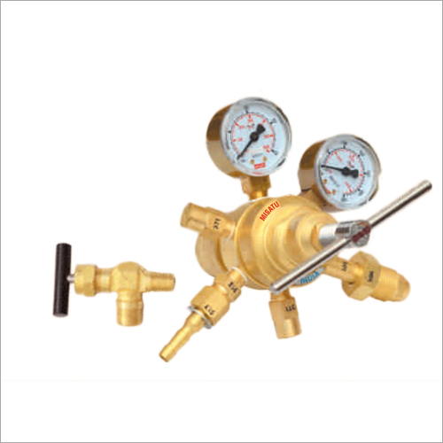 HD Series High Pressure Double State Gas Regulator
