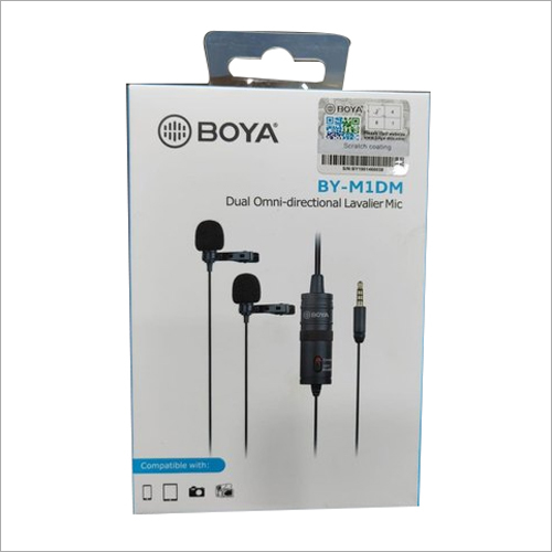 Dual Omni Directional Lavalier Microphone