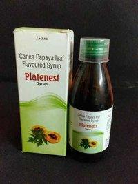 Carica Papaya Leaf Flavoured Syp