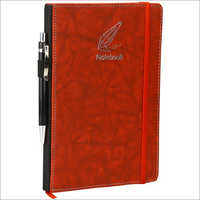 A5192spec Red Diary Notebook