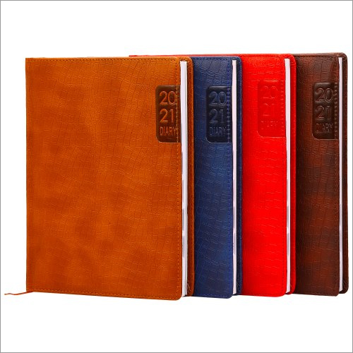 Ncss Croco Corporate Leather Diaries