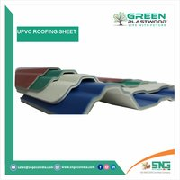 Colored Coated UPVC Roofing Sheets