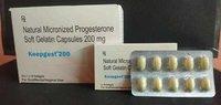 Natural Micronized Progesterone Soft Gelantin Capsules