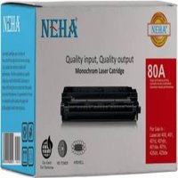 NEHA 80A TONER CARTRIDGE FOR USE IN HP LASERJET 400/M401/M401d/M425dw Black Ink Toner