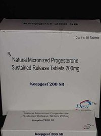 Natural Micronized Progesterone Tablets