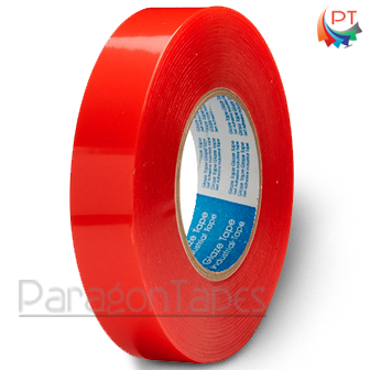 130 Mic Red Double Sided Polyester Tape