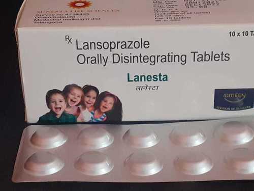 Lansoprazole Orally Disintegrating Tablet