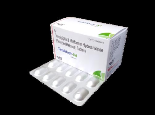 Teneligliptin 20 mg & Metformin HCl 500 mg Tablet