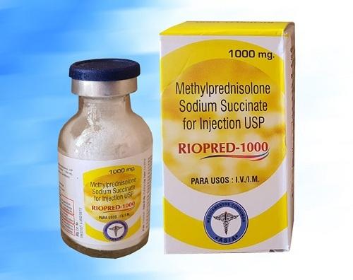 Methylprednisolone injection