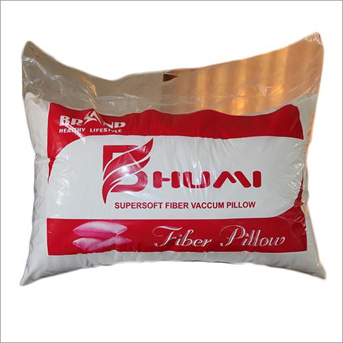 Recatngular Fiber Quilted Pillow