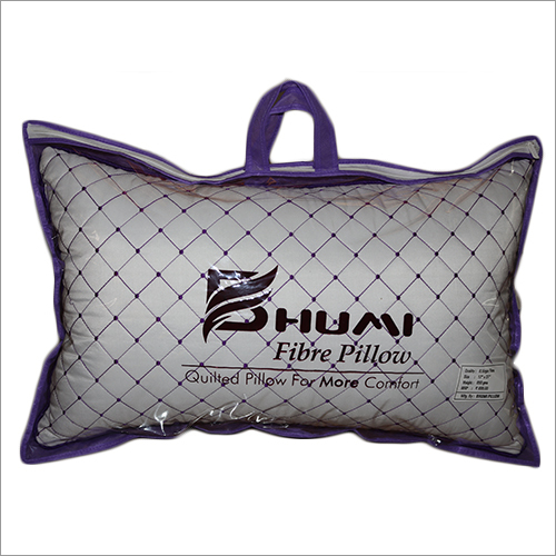 Doted Fiber Quilted Pillow