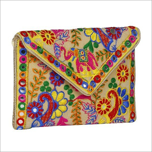 Fancy Embroidered Clutch