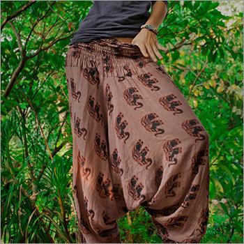 Ladies Fancy Harem Pants
