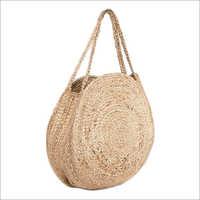 Ladies Round Jute Bag