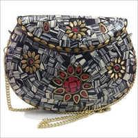 Metal Clutch 2C Mosaic Bag