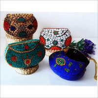Ladies Mosaic Potli Bag