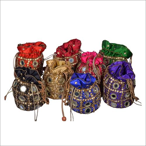 Ladies Ethnic Potli Bag