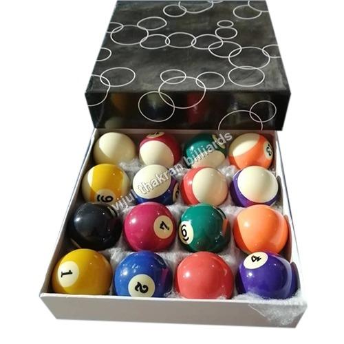 6A Black Pool Ball Box