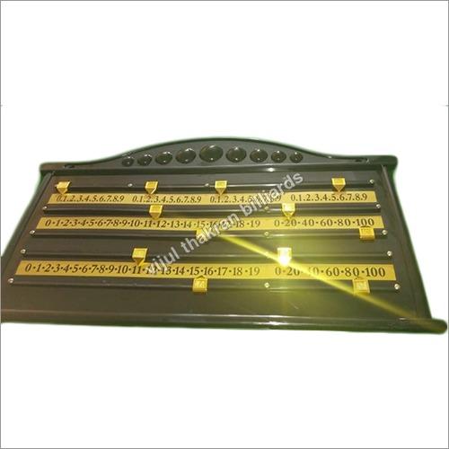 Normal Billiard Scoreboard