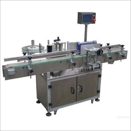 Automatic PLC Based Round Bottle Labeling Machine