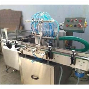 Automatic 4 Head Air Jet Cleaning Machine