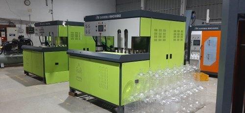 120 BPH 1 cavity Semi Automatic 20 Ltr Jar Blowing Machine