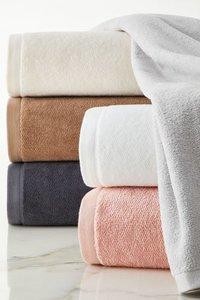 Bath White Hotel Towels