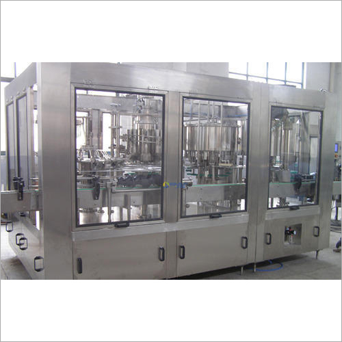 60 BPM PET Bottle Rinsing, Filling And Capping Machine