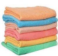 Hand White Terry Towel
