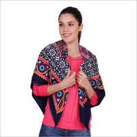Ladies Polyester Square Scarves