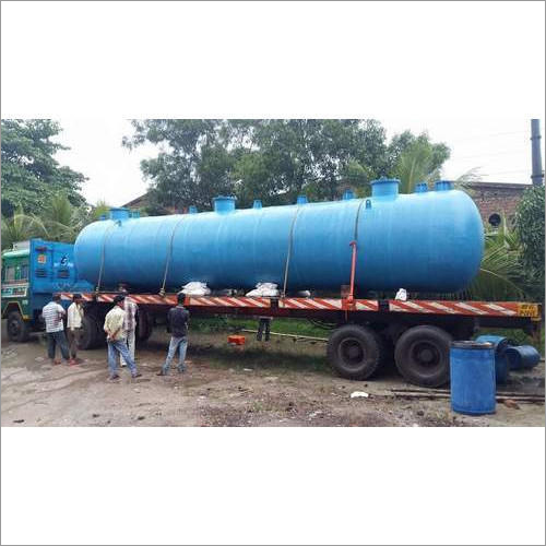Commercial Packaged Sewage Treatment Plant