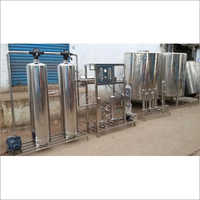 SS Reverse Osmosis Plant