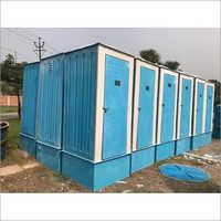 Blue FRP Bio Toilet