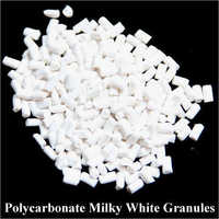 Milky White Polycarbonate Granules