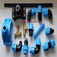 MDPE Compressor Fittings
