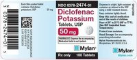 Diclofenac Potasium Tablets