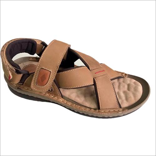 Olive Lee Cooper Leather Sandal