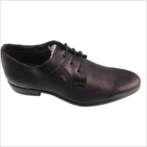 Lee Cooper Black Leather Formal Shoes