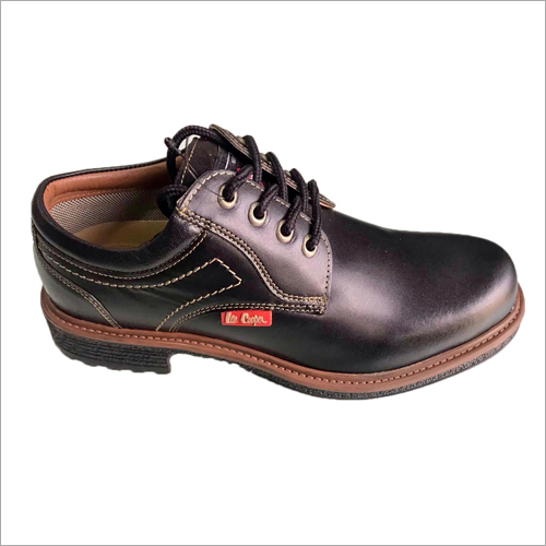 Black Lee Cooper Leather Shoes