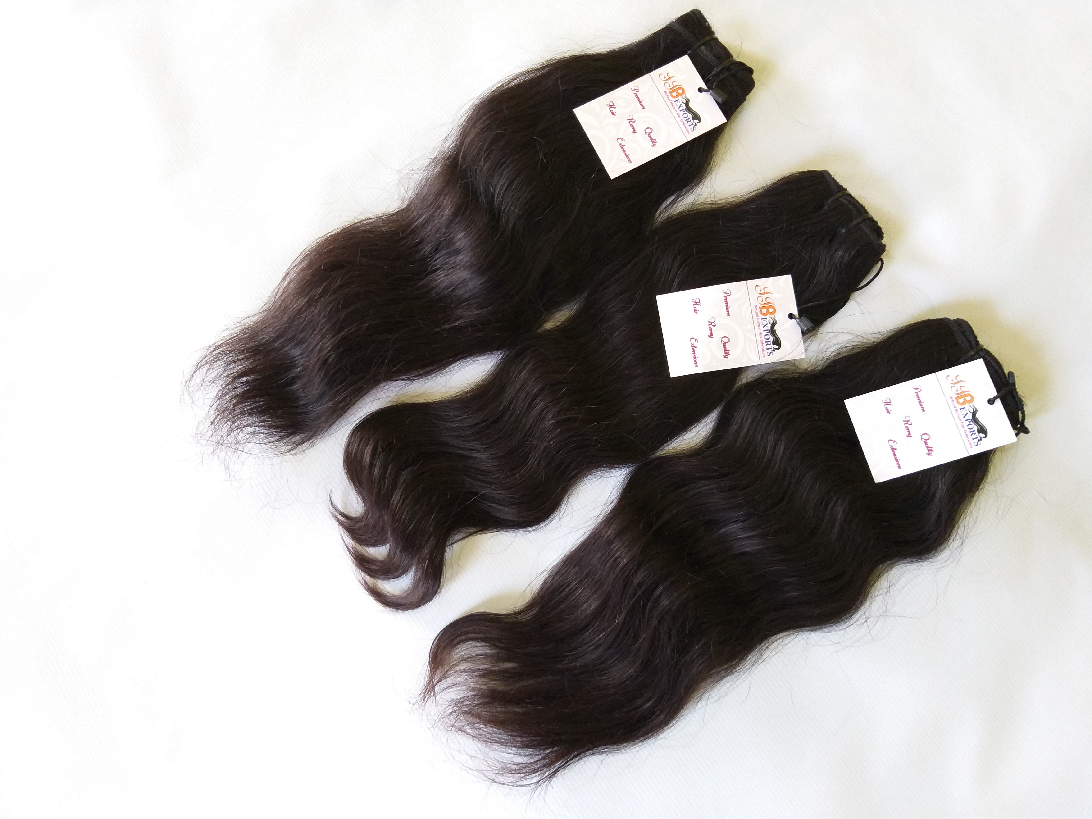Natural Remy Indian Virgin Human Hair Straight Wavy Curly Bulk Hair Supplier Wholesale, Manufacturer & Exporter