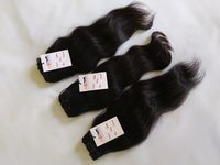 Indian Raw Unprocessed Top Quality Cuticle Aligned Wavy Human Virgin Hair