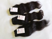 High Quality Natural Indian Human Hair Curly Straight Deep Wave Wavy Hair, Tangle Free Hair With Closure Frontal