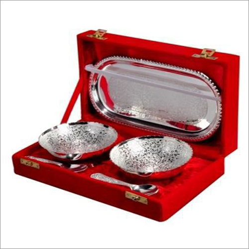 Gold & Silver Plated Bowl Set