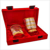 Gold & Silver Plated Glass Sets