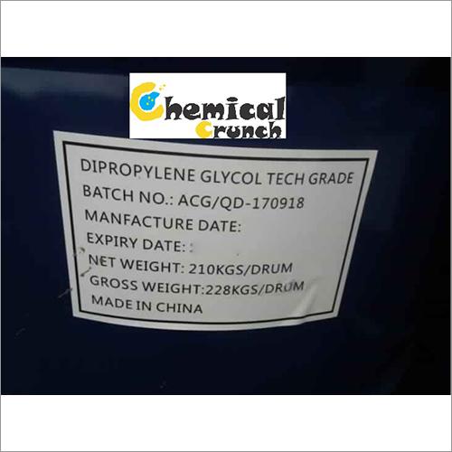 Dipropylene Glycol Grade: Industrial Grade