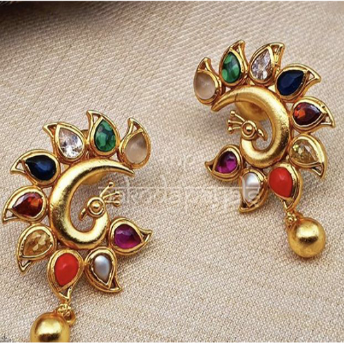 Colourful Gemstone Earings