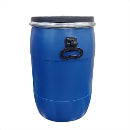 50 Liter Blue HDPE Drum