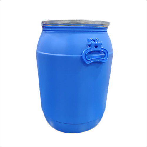 65 Liter Sky Blue Open Top Drum