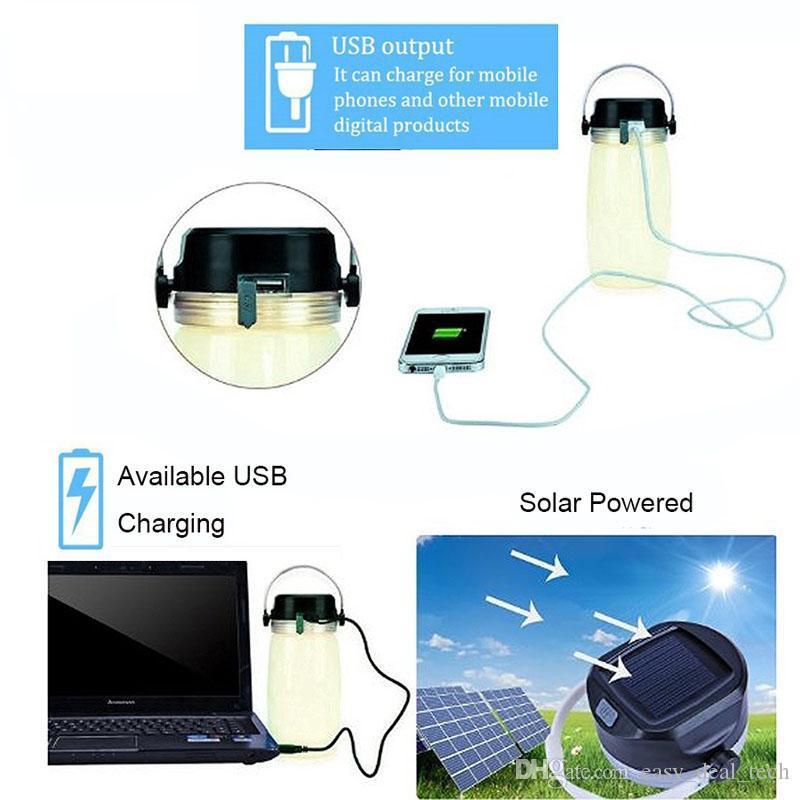 5 in 1 Solar Campaign Lamp