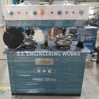 HYDRAULIC DOUBLE DIE PAPER FORMING MACHINE